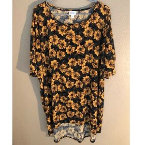 Oversized Sunflower Top by LuLaRoe